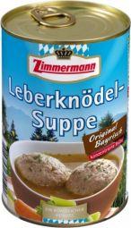Zimmermann Leberknödel Suppe