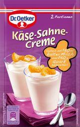 Dr. Oetker Käse-Sahne-Creme