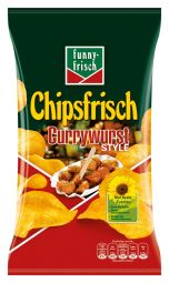 Funny Frisch Chipsfrisch, Currywurst Style
