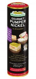 Gourmet Pumpernickel, rund
