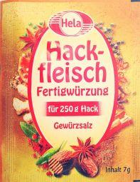 Hela Hackfleisch Fertigwürzung