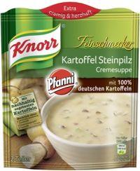 Knorr Kartoffel-Steinpilz-Cremesuppe