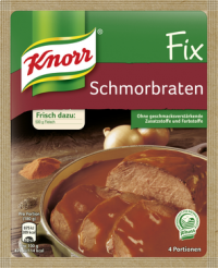 Knorr Fix Schmorbraten