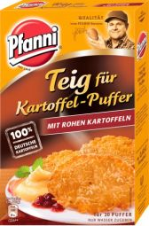 Pfanni Teig für Kartoffelpuffer