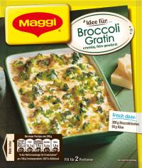 Maggi Fix Broccoli-Gratin