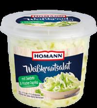Homann Weisskrautsalat mit Paprika & Zwiebeln