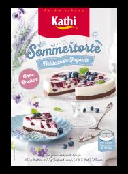 Kathi Sommertorte Heidelbeer Joghurt - without baking