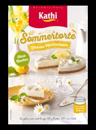 Kathi Sommertorte Zitronen Milchschaum  - without baking