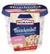Homann Fleischsalat 400g - German Meat Salad