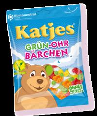 Katjes Grün-Ohr Bärchen