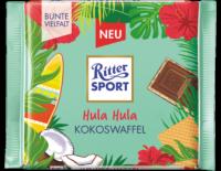 Ritter Sport  Hula Hula Kokoswaffel