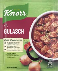 Knorr Fix Gulasch