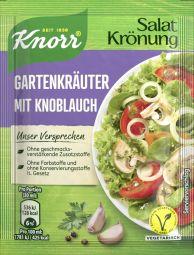 Knorr Salatkrönung Gartenkräuter mit Knoblauch