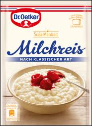 Dr.Oetker Milchreis, nach klassischer Art
