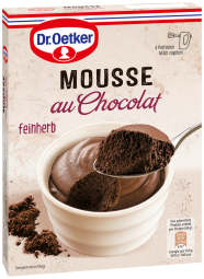 Dr. Oetker Mousse au Chocolat, feinherb