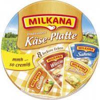Milkana Käse-Platte, 200g