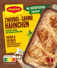 Maggi Fix Zwiebel Sahne Hähnchen