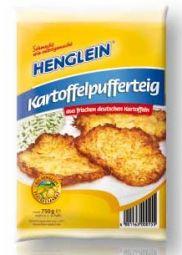 Henglein Kartoffelpufferteig, Best Before 03.06.21