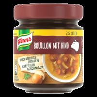 Knorr Bouillon mit Rind