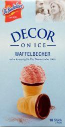 Decor on Ice Waffelbecher