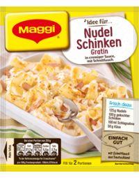 Maggi Fix Nudel-Schinken Gratin