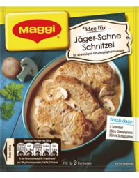 Maggi Fix Jäger-Sahne Schnitzel