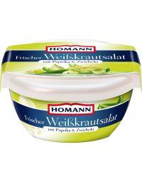 Homann frischer Weisskrautsalat mit Paprika&Zwiebeln 400g