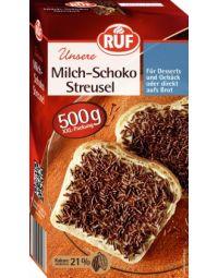 RUF Milch-Schoko Streusel 500g