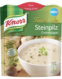 Knorr Steinpilz Suppe
