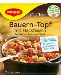 Maggi Fix Bauern-Topf mit Hackfleisch