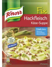 Knorr Fix für Hackfleisch Käse-Suppe