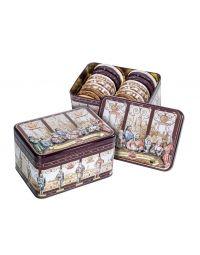 Meistersinger-Schmuckdose gefüllt mit gemischten Lebkuchen