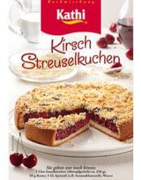 Kathi Cherry Streusel Cake