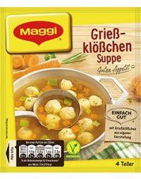 Maggi Guten Appetit Grießklößchensuppe