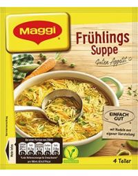 Maggi Guten Appetit Frühlingssuppe