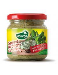 Spinat-Kräuter-Creme