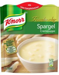 Knorr Spargelcremesuppe