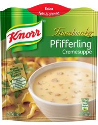 Knorr Pfifferlingcremesuppe