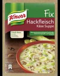 Knorr Fix Hackfleisch-Käsesuppe mit Lauch