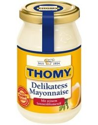 Thomy Delikatess-Mayonnaise- jar