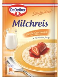 Dr. Oetker Milchreis Vanille