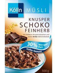 Kölln Knuspermüsli  Schoko Feinherb