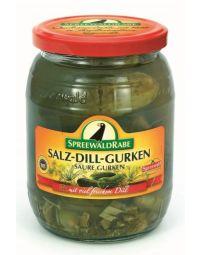 Spreewälder Salz-Dill-Gurken,