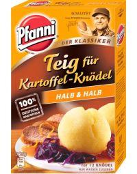 Pfanni Teig für Kartoffelknödel, halb & halb