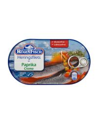 Rügenfisch Heringsfilets in Paprika Creme