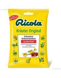 Ricola Kräuter Original, zuckerfrei 75g