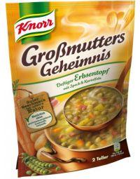 Knorr Deftiger Erbsentopf mit Speck