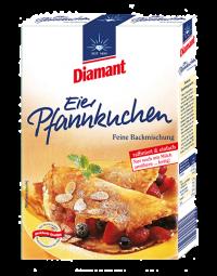 Diamant Eier-Pfannkuchen