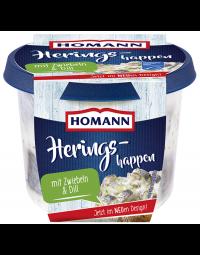 Homann Heringshappen mit Zwiebeln und Dill, 200g