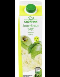 Grünfink Sauerkraut Saft